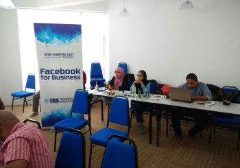 Sewa Bilik Kursus – Facebook For Business – TRS Training & Consultation